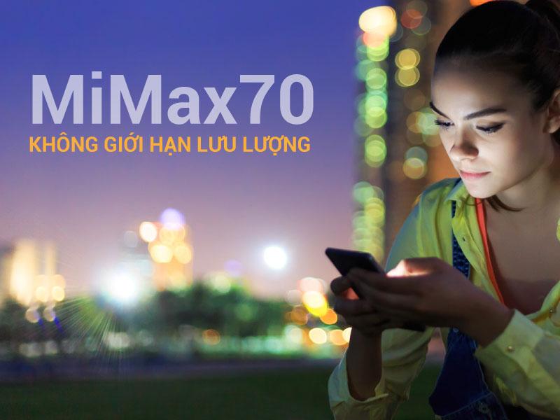 MiMax70 - Không giới hạn lưu lượng