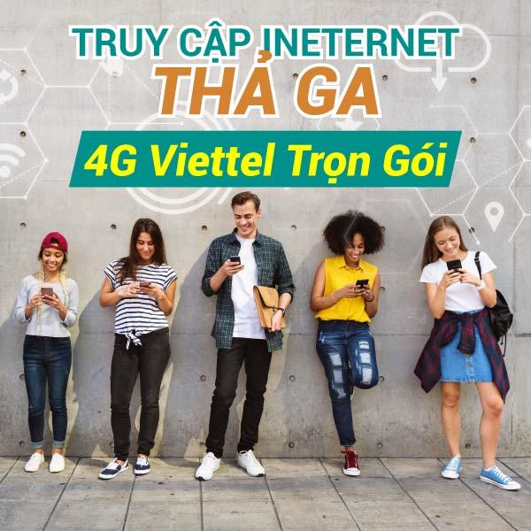 Đăng ký gói cước 4G Viettel trọn gói