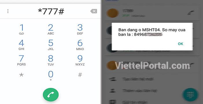 Kiểm tra số điện thoại Viettel