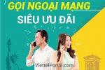 Đăng ký gọi ngoại mạng Viettel