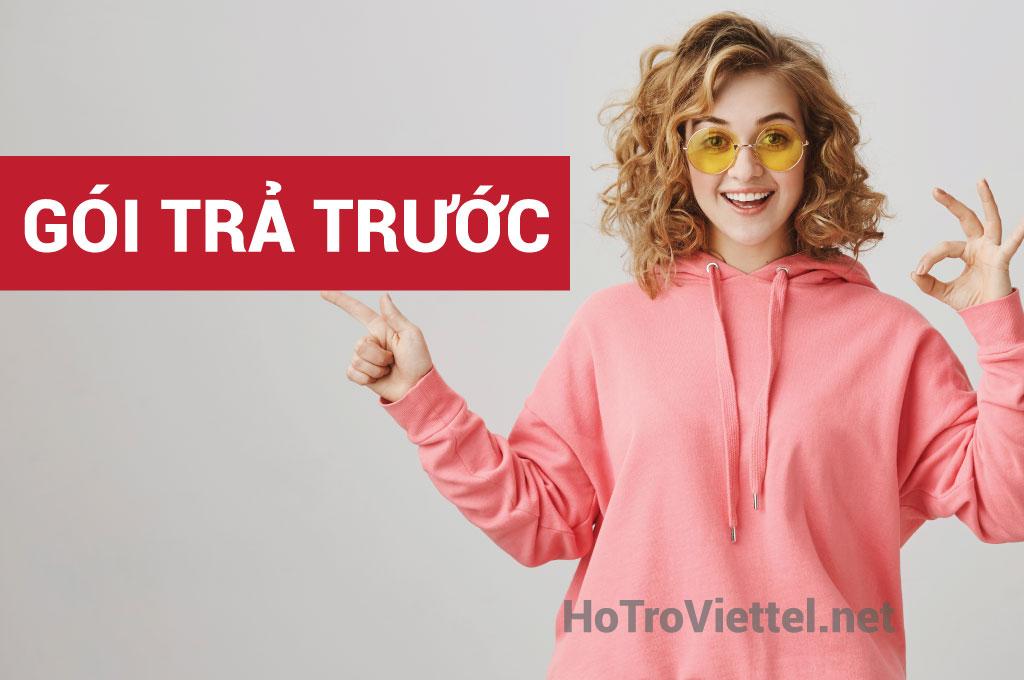 Các gói cước trả trước Viettel 2020